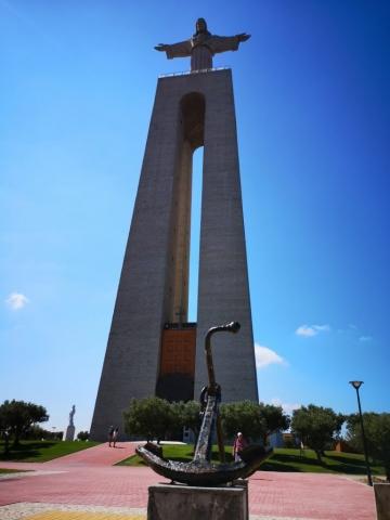 Kip Jezusa nad Lizbono.