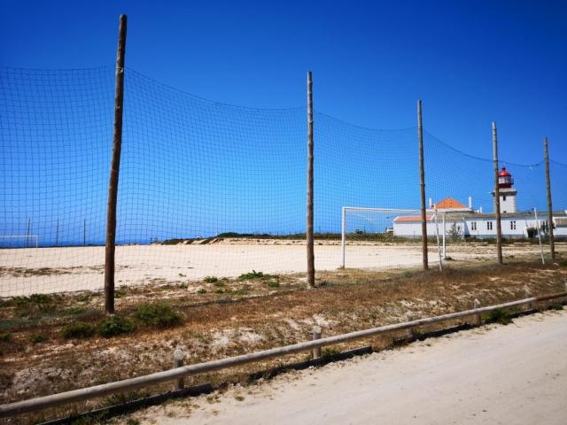 Farol Cabo Sardão - nogometno igrišče