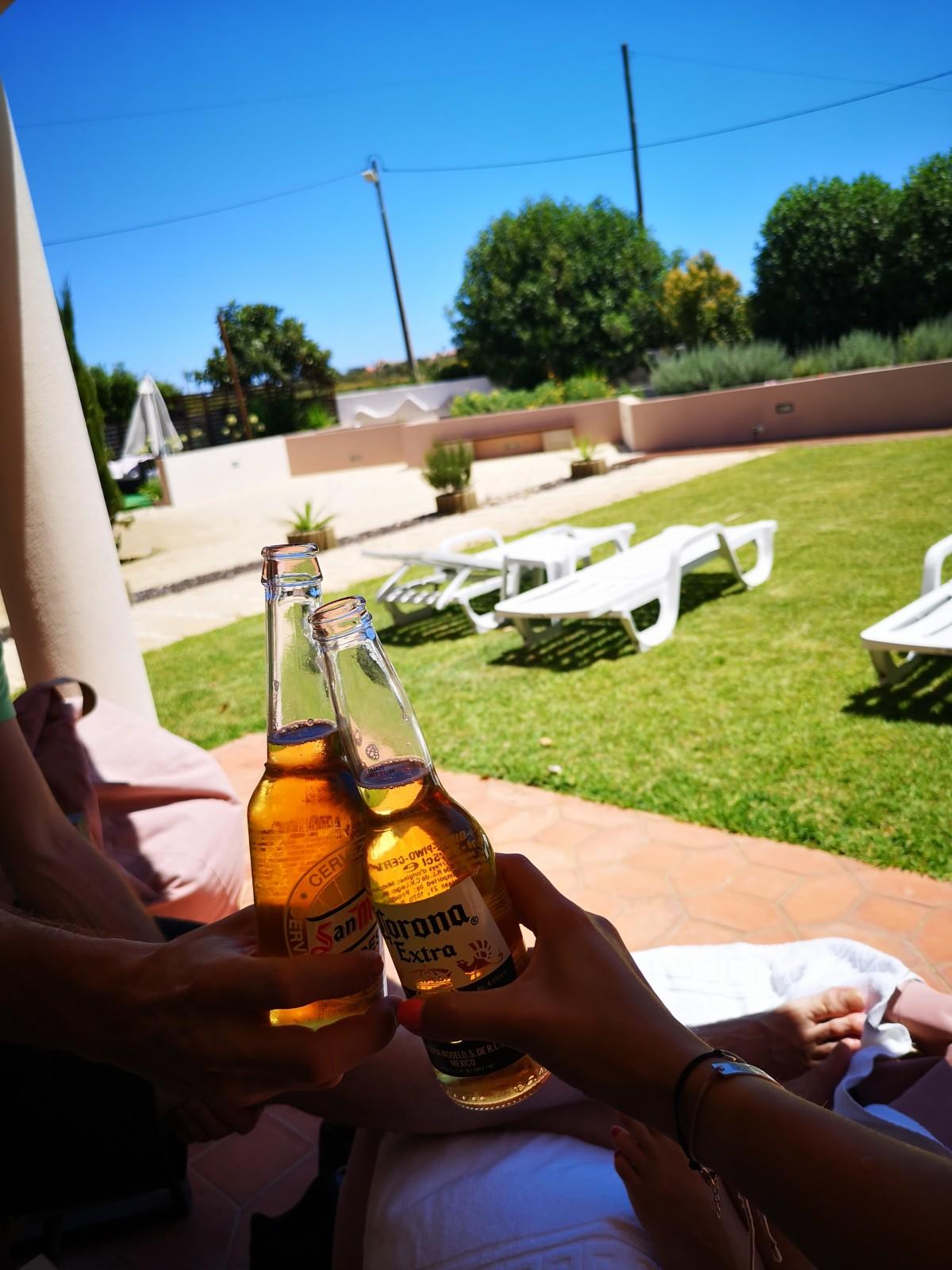Luz-jug Portugalske za počitek