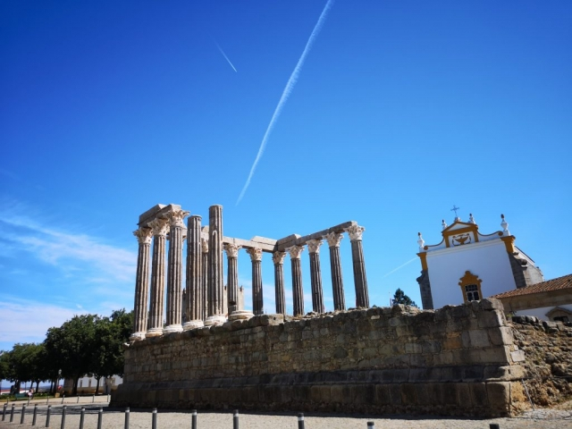 Evora- rimski ostanki